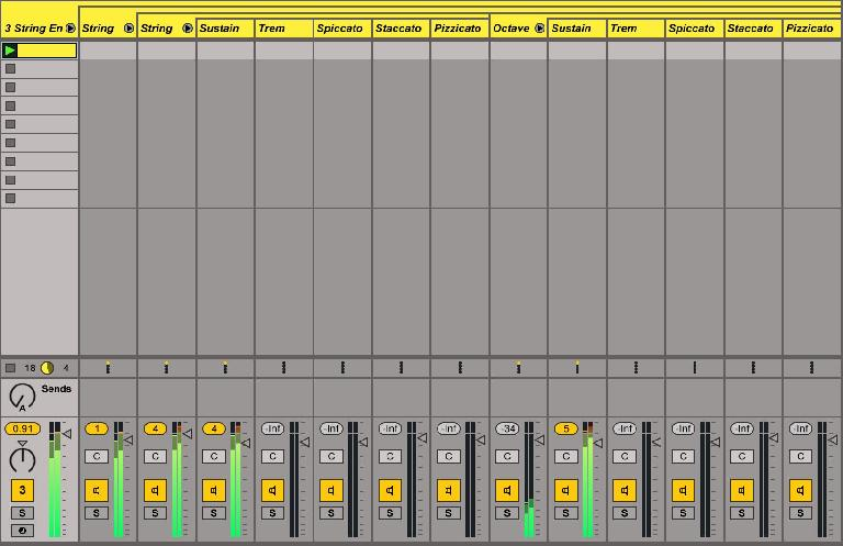 Instrument Rack mixing revealed – note the nested Rack hierarchies.