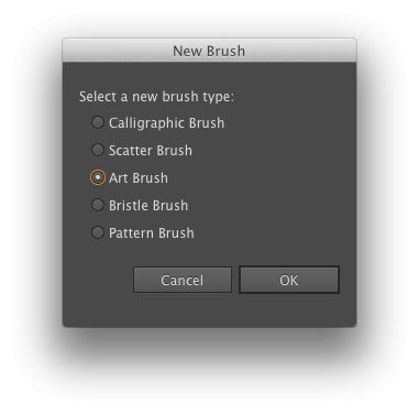 A basic new Art Brush