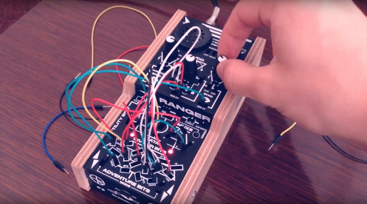 Bastl bitRanger patchable synthesizer