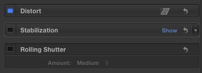 """""""Show"""" appears when you hover over the right-hand side of the bar."""
