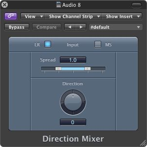 The Direction Mixer Plugin