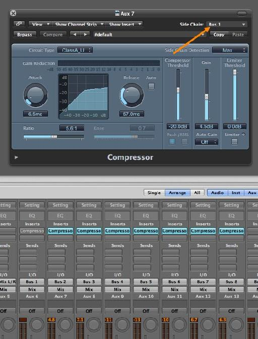 Copy the bus compressor