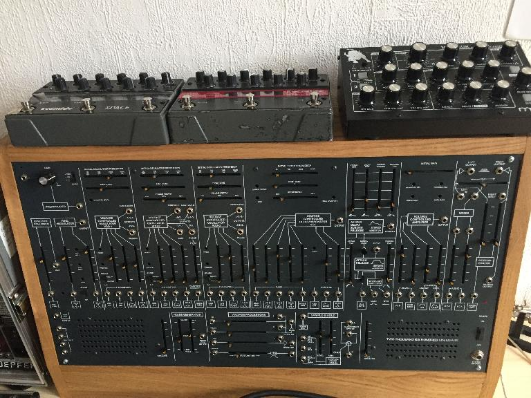 The Mole's kit-constructed Arp 2600 clone