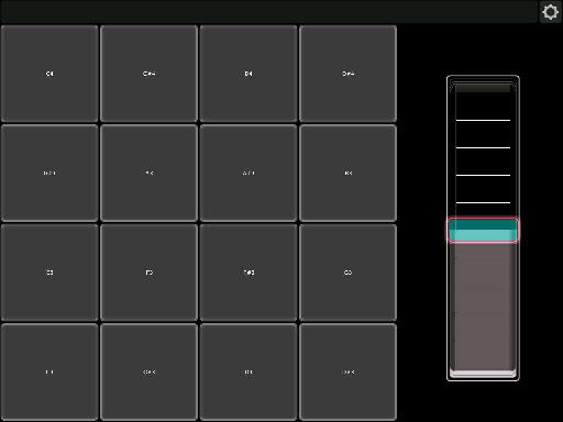 Lemur for iPad drum template