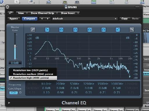 Using the EQ as an analyzer gives you a brand new mix tool