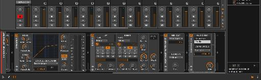 Bitwig Studio plays nicely with external gear.