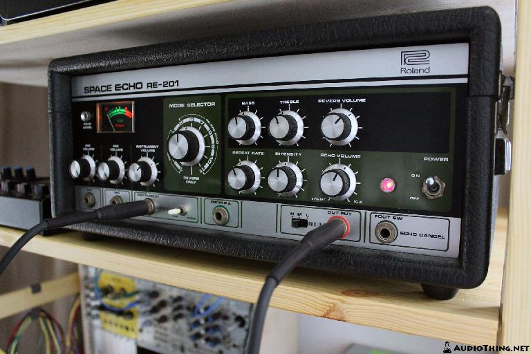 The Roland Space Echo RE-201...The famous Tape Echo effect unit that Outer Space is modelled after