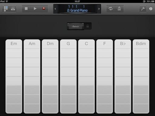 Keyboard instrument interface.