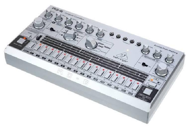 Behringer RD-6 analog drum machine and step sequencer