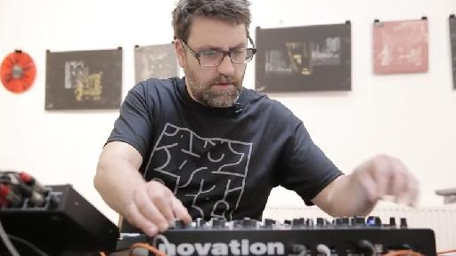 Chris Calcutt having a lot of fun making music with his hardware-only based music setup.