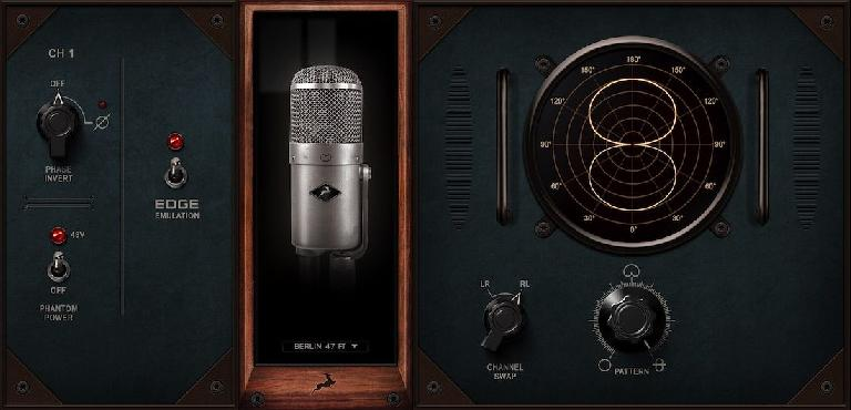 Mic modelling from Antelope Audio