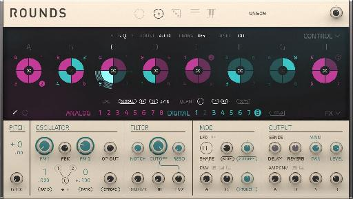 If you like mixing analogue and digital synthesis (and who doesn't?), Rounds is for you.