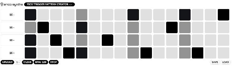 Pico Trigger Pattern Creator