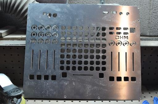 Recognize this? Yup, it's the faceplate for the Ohm 64.