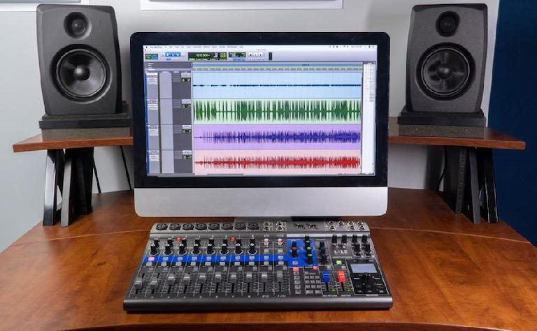 Livetrak L-12 with Avid Pro Tools.