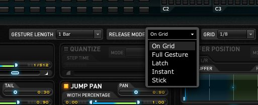 Quantized release will give you even tighter transitions