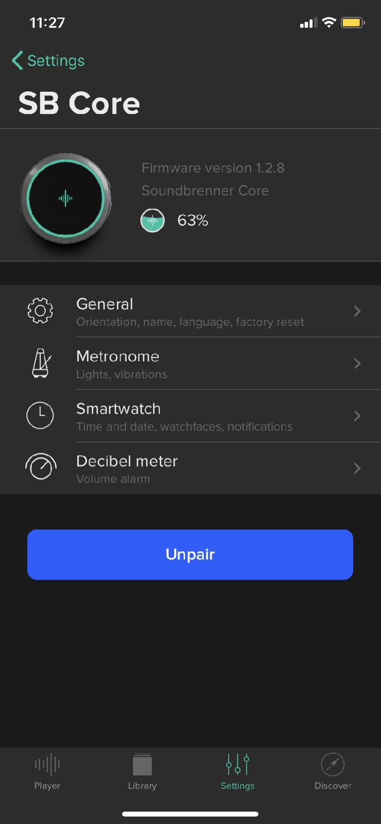 Soundbrenner app 2