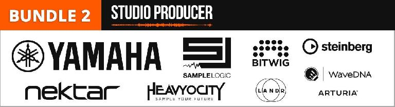 Bundle 2 - Studio Producer - Yamaha, Sample Logic, Bitwig, Steinberg, Nektar, Heavyocity, WaveDNA, Arturia,