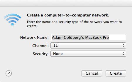 Create Network'¦
