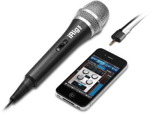 IK Multimedia makes a range of iOS-compatible input devices like the iRig Mic
