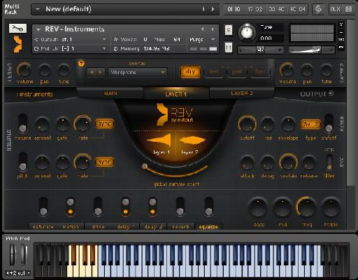 Output REV for Kontakt
