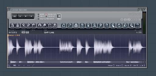 Drag and Drop Audio into Edison