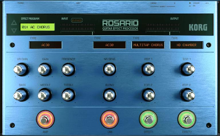 The new Rosario guitar recorder and processor