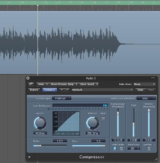 Logic's compressor performing as a buss compressor