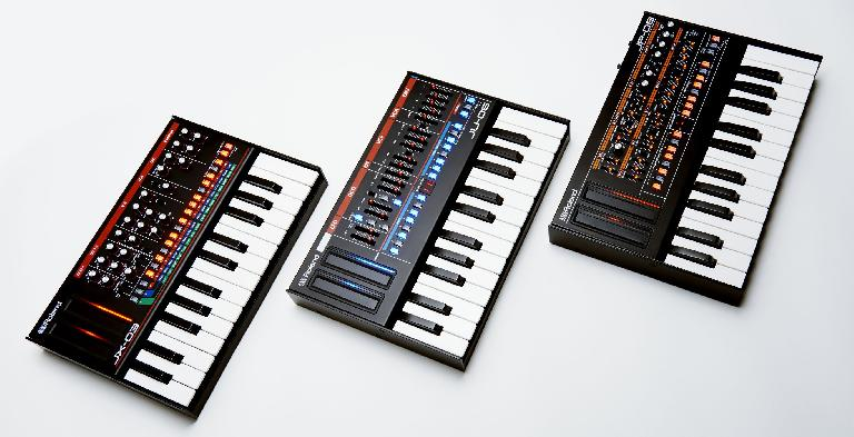 The JP-08, JU-06 & JX-03.