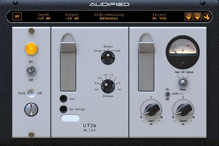Audified U7sb v2 compressors/limiter.