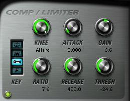 Compressor / Limiter.