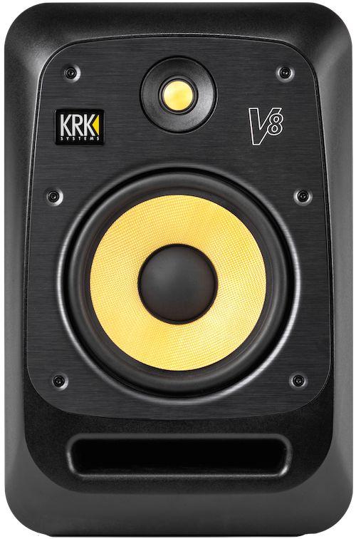 The KRK V8 Series 4 studio monitor