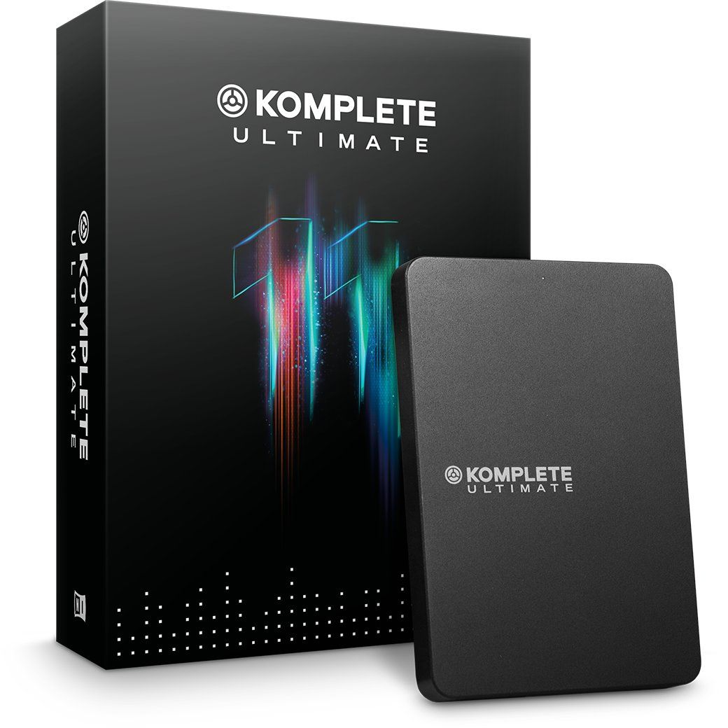 NI's Komplete - the ultimate all in one bundle?