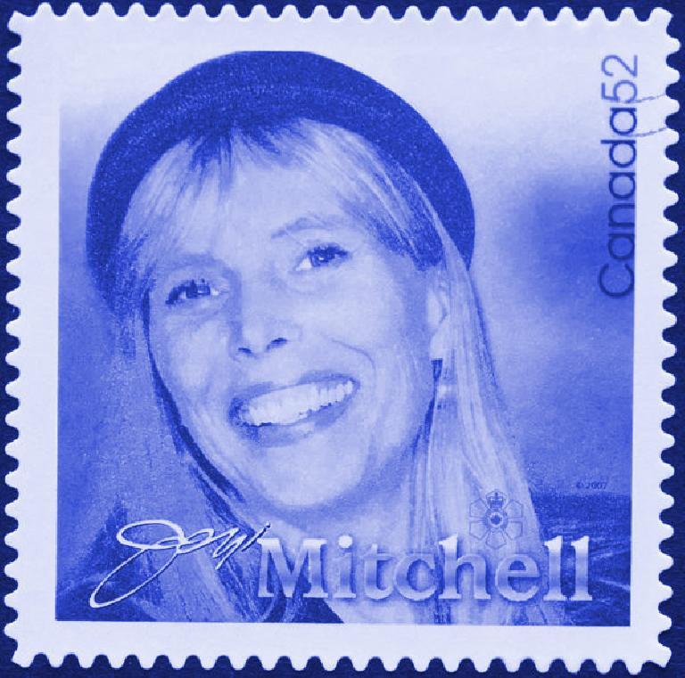 Joni Mitchell Stamp
