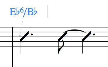 Eb6/Bb
