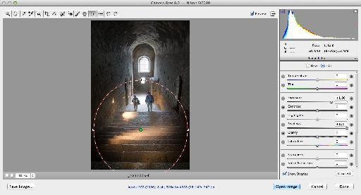 Camera RAW filter and improvements - Radial Filter