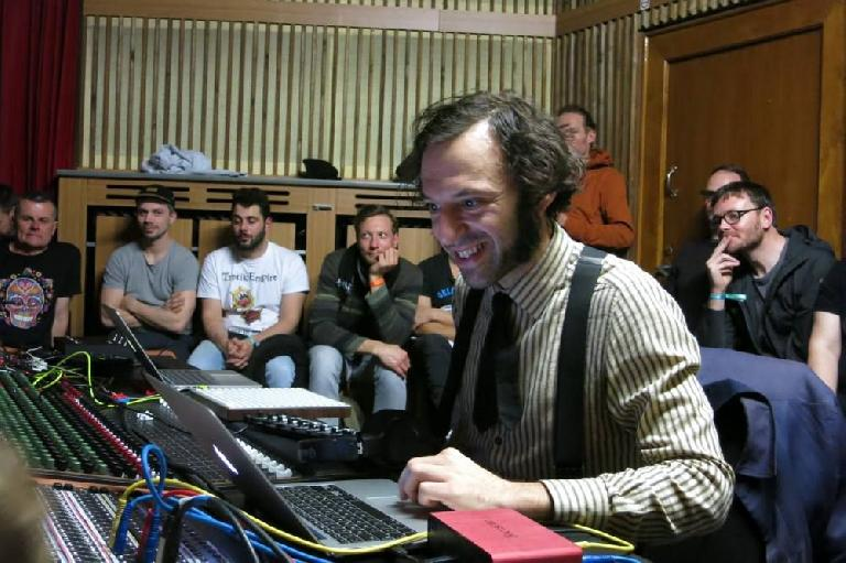 Daedalus Studio Session (Photo credit Maya Consuelo Sternal)