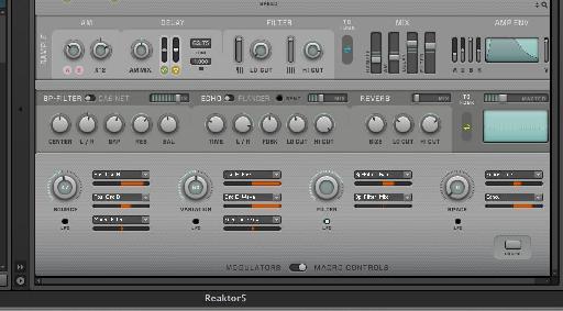 More in depth editing of the Macro controls.