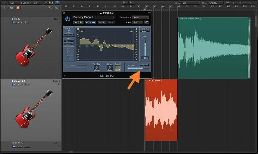 Fig. 10 The 'Smoothing' slider softens any excessive peakiness in the matched-EQ curve.