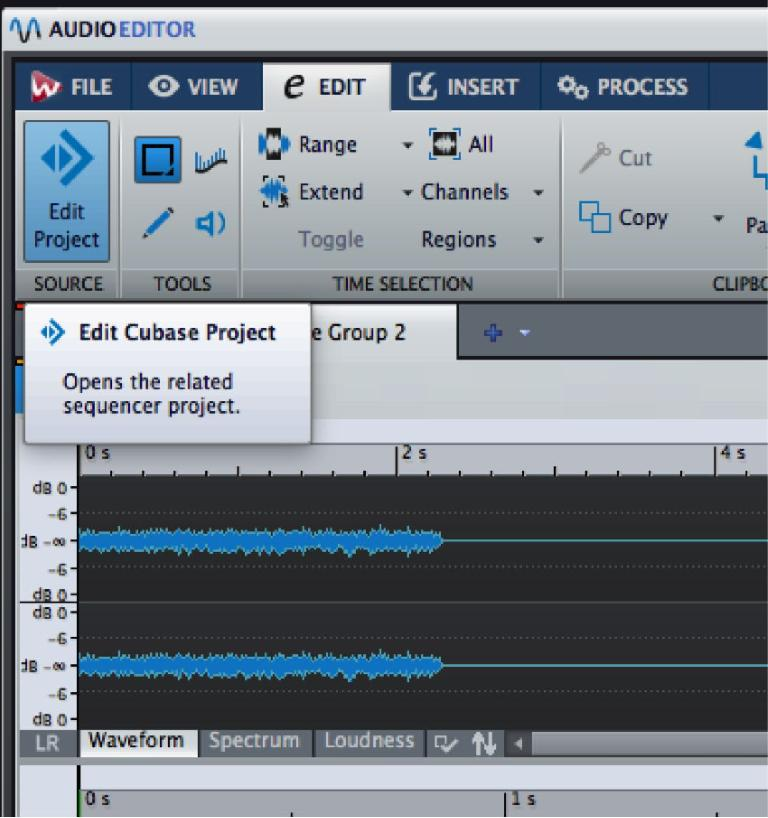Jump back to a Cubase project to tweak a mix