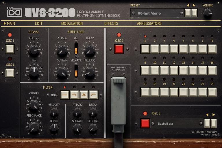 UVS-3200 GUI