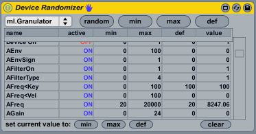 Device Randomizer by Hanako. Randomizes anything!