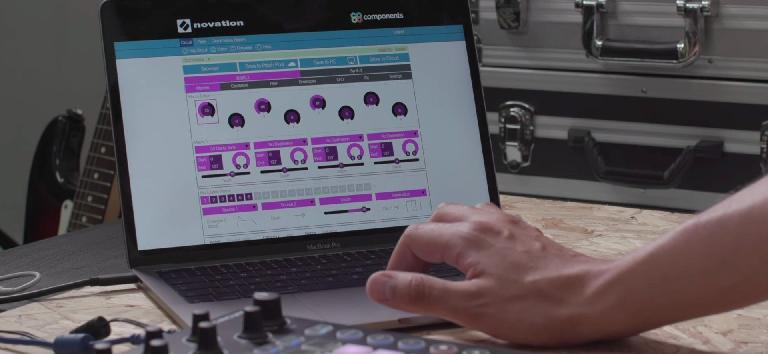 Novation Circuit Synth Editor