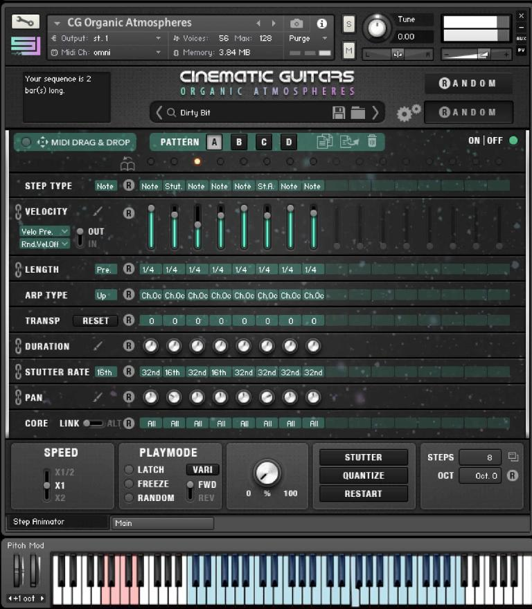 Cinematic Guitars Organic Atmospheres GUI 2