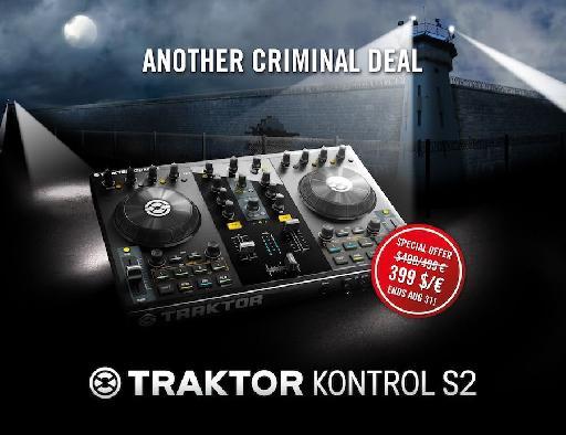 Traktor Kontrol S2 limited offer