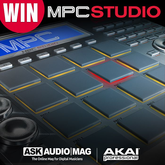 Win Akai MPC Studio on AskAudioMag.com