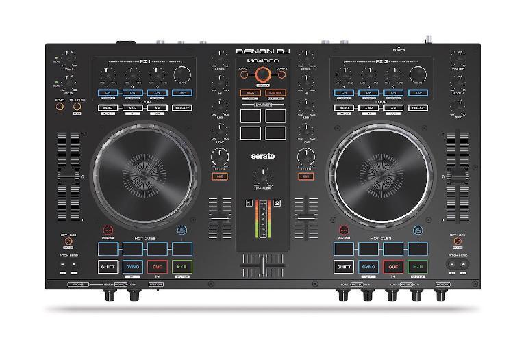 Denon DJ MC4000 top view.