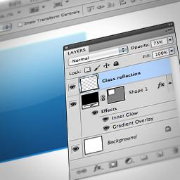 Creating Web 2 0 Glass Effects In Photoshop How To Macprovideo Com