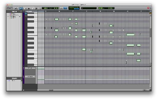 With the MIDI Editor Window in key focus the keyboard shortcut '˜E' now becomes a toggle that hides and reveals any lanes of continuous controller automation.