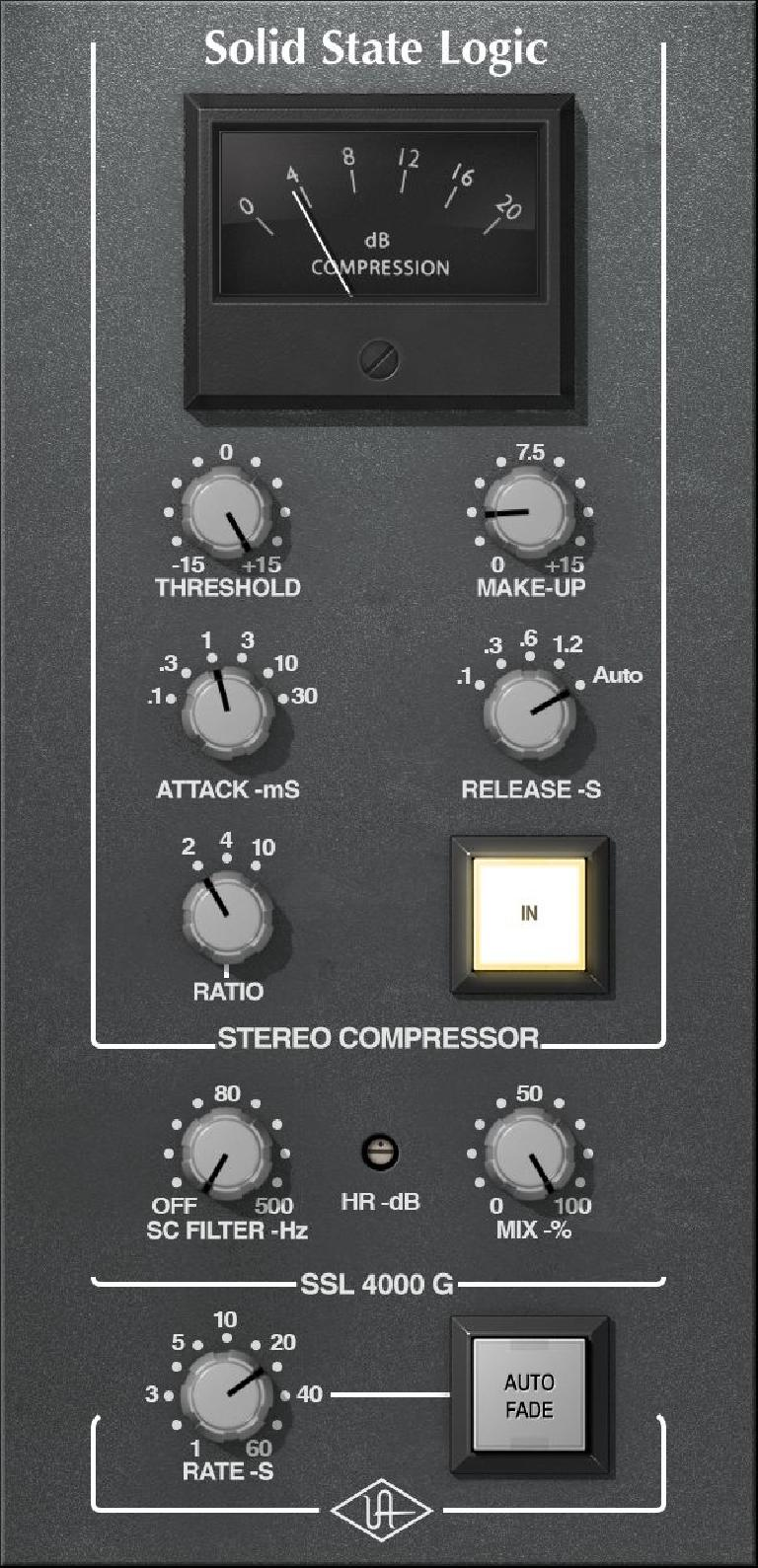 SSL 4000 G Bus Compressor Collection — $299*